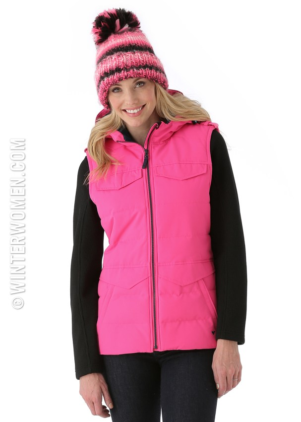 ski fashion 2014 2015 obermeyer dylan vest