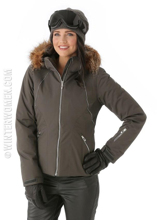2014 2015 ski fashion spider gem fur