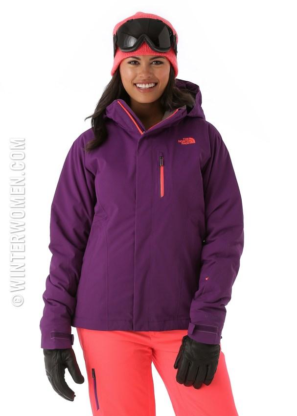 2014 2015 ski fashion the north face womens ski jackets