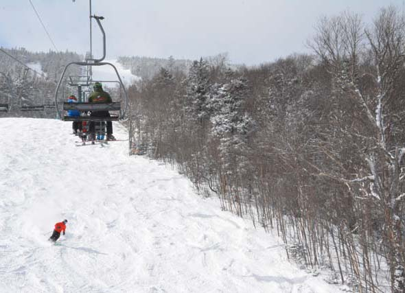 heavens gate ski run sugarbush