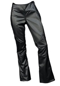 2014 faux leather ski pants spyder fashion
