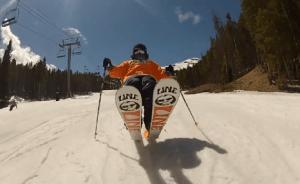 ski bum skiing
