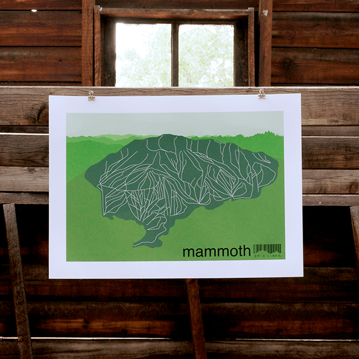Mammoth Map. Photo courtesy Epic Lines.