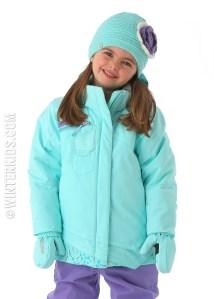 spyder girls ski coats