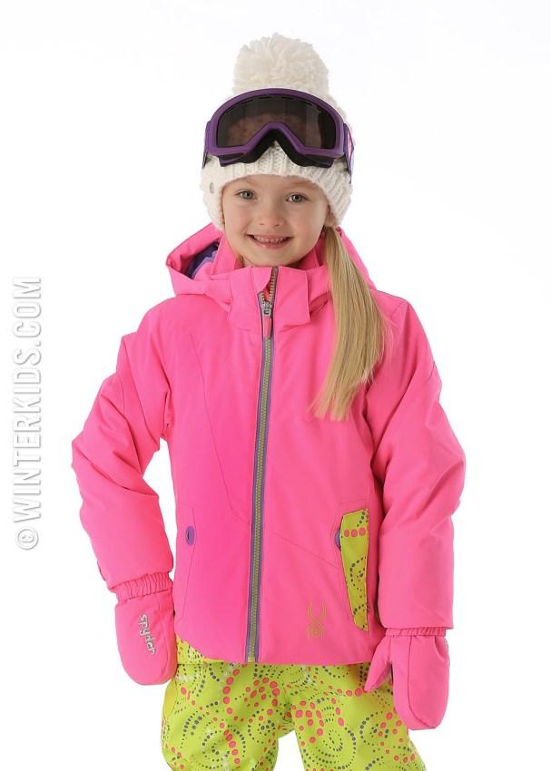 Spyder ski jackets for girls