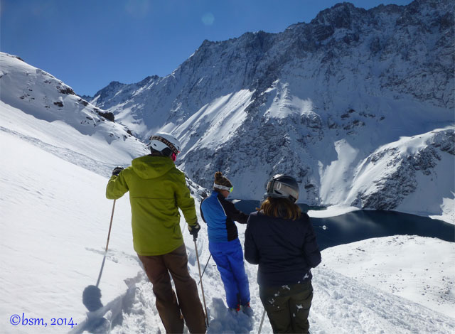 get a guide at ski portillo