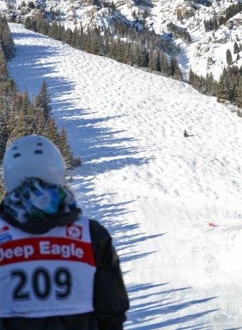 mt norquay alberta bump skiing