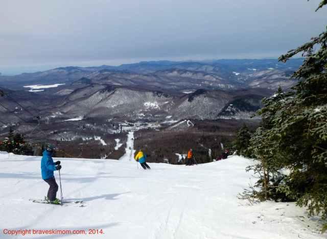 pico mountain view and ski