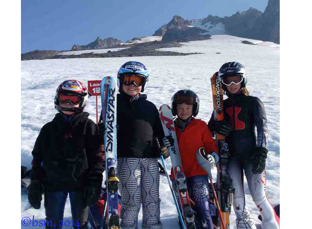 ski racer helmets