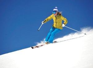 sun valley ski college run