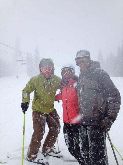 spring powder day breck