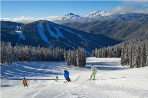 keystone family skiing