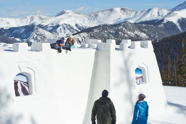 keystone kidtopia snow fort