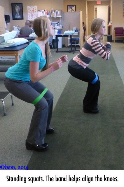 standing squats