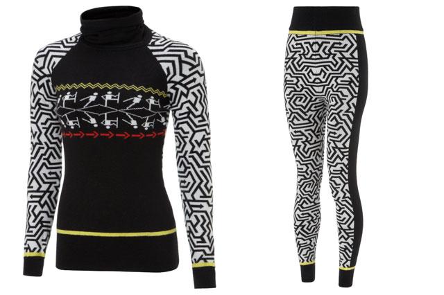 sweaty betty ski sweaters and leggings