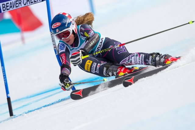 ski racing mikaela shiffrin