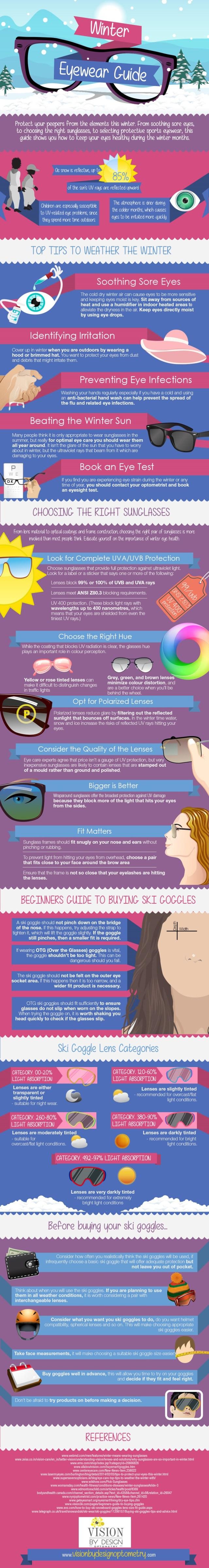 winter eyewear graphic