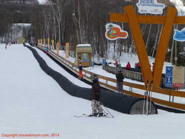 mont-sainte-anne children's ski school