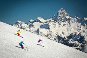 ski snowboard sunshine village