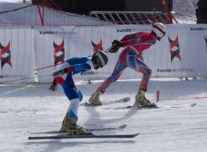 telemark ski racing