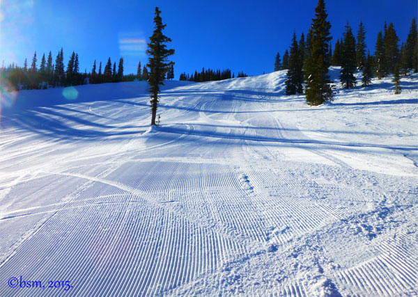 Snowmass first tracks