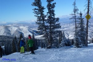 Skiing Snowmass With Teens