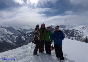 teen skiing snowmass