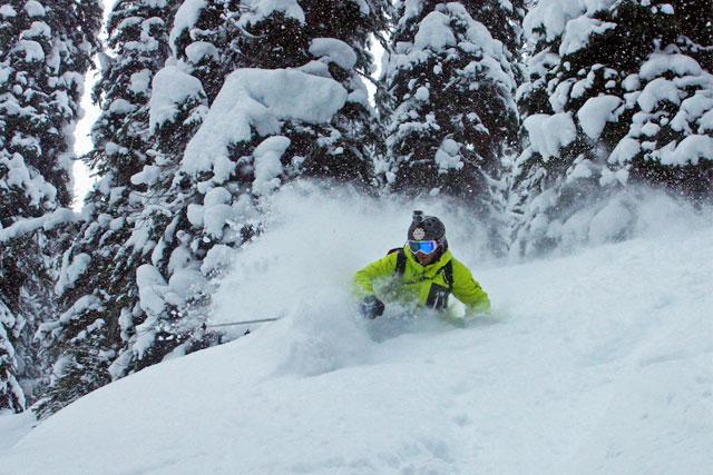 joel gratz skiing