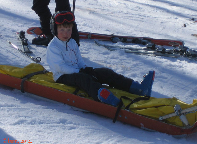 ski patrol rescue