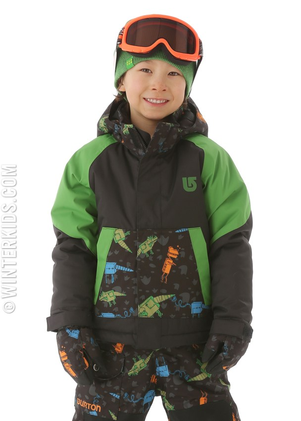 burton minishred amped jacket