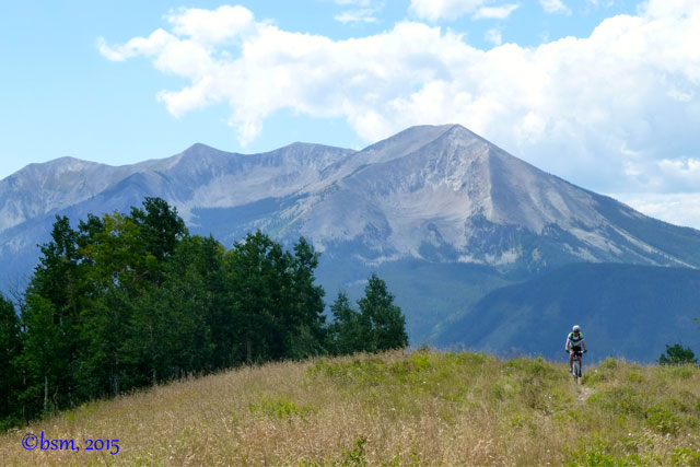 beautiful mountain biking crested butte