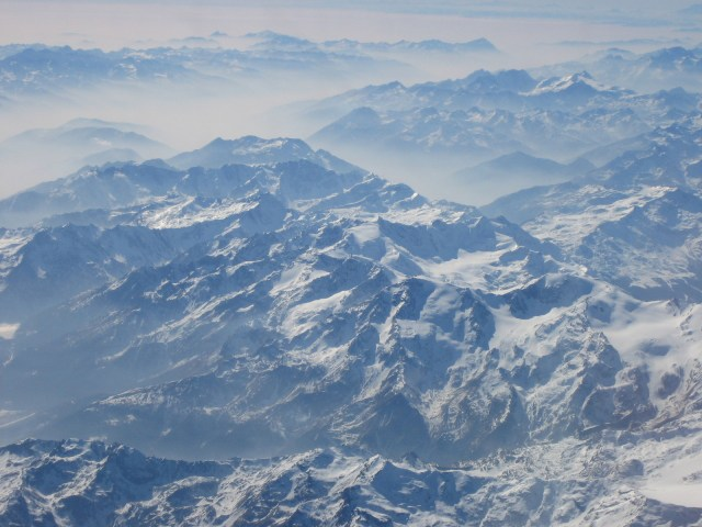 italian alps winter