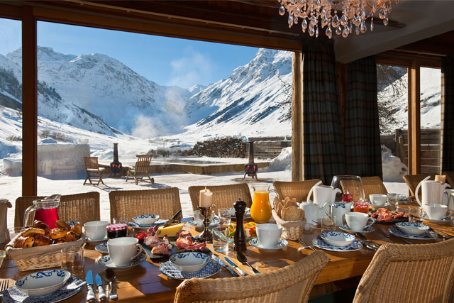 le chardon luxury ski chalet
