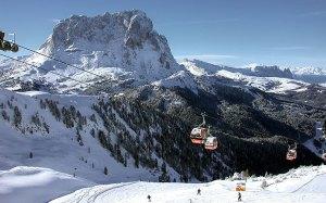 val gardena skiing