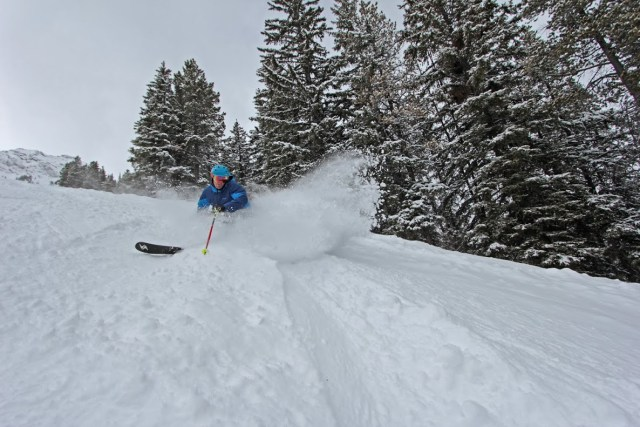 mount nor quay spring skiing