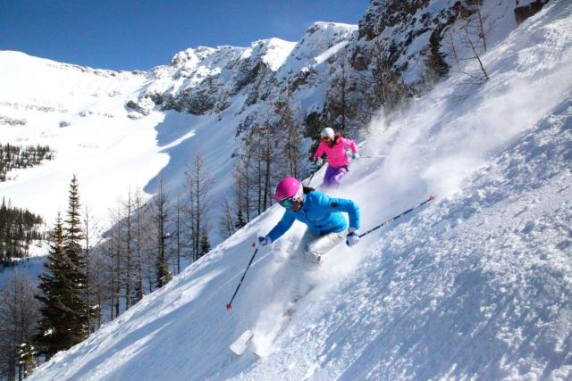 sunshine village alberta ski