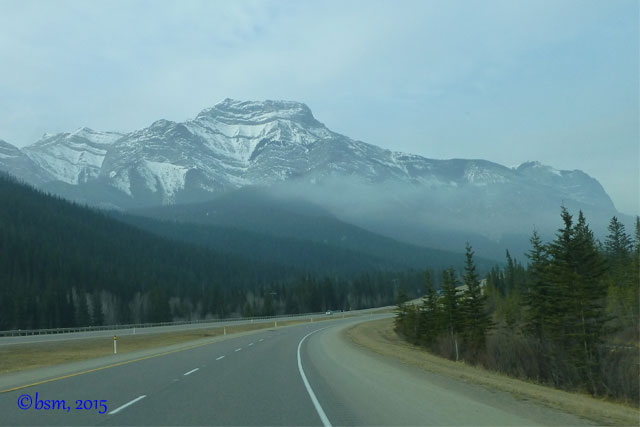 driving in alberta no ski traffic