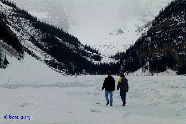 lake louise ice hike