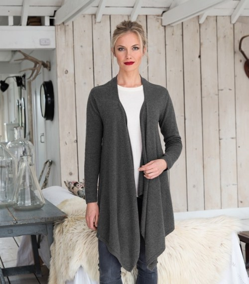 Woolovers waterfall cardigan