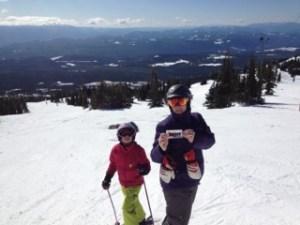 heather gardener a big white brave ski mom