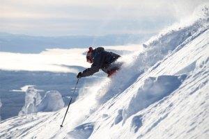 big white steep and deep