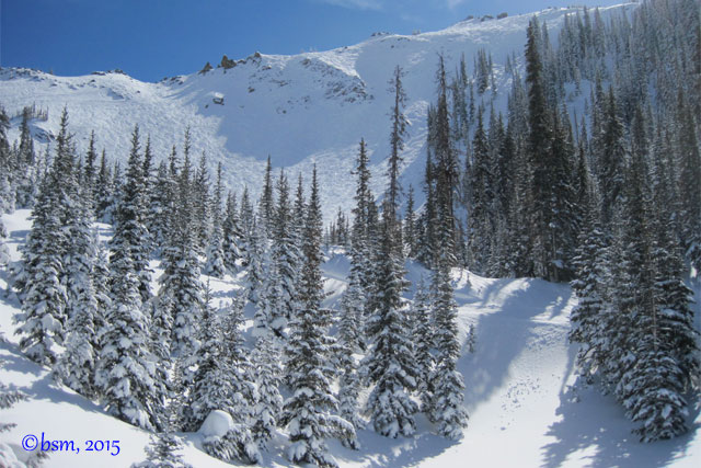 headwall crested butte