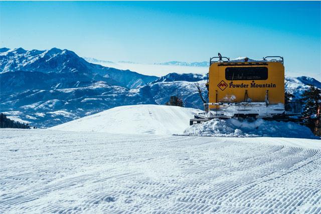 Big Ideas Big Skiing At Powder Mountain Utah The Brave