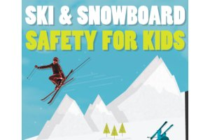Ski and Snowboard Safety for Kids: An Infographic