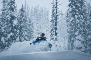 whitewater tree skiing
