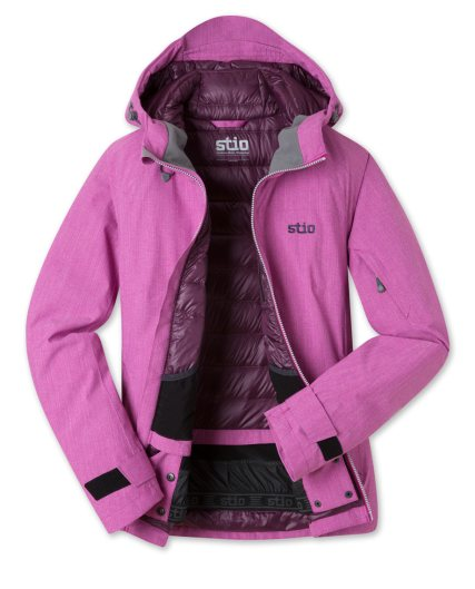stio womens shot 7 down jacket