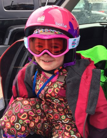 bolle b kid helmet and goggles