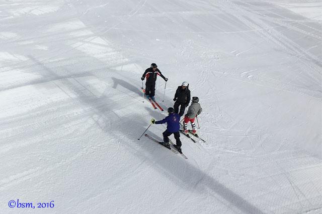 ski race training buck hill