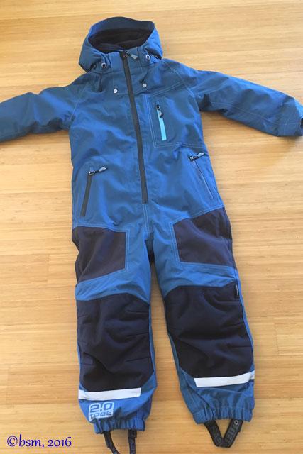 tobe outerwear edus mono suit for kids