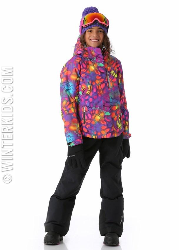 Sunice Jr Naquita Technical Jacket in Kaleidoscope.